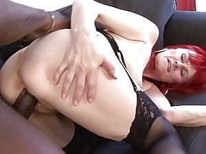 Mature Lady Interracial Hardcore Pussy Torn up