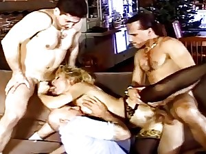 Blonde Mummy Gets Used Like A Whore While Spouse Watches