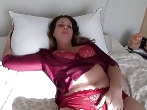 Tipsy blonde Milf unclothes and wants to be fucked now
