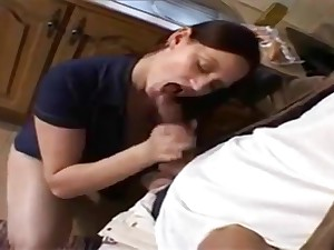 Redhead milf and big cock