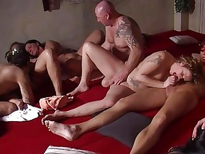 MMV FILMS Nasty German swinger soiree
