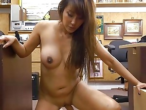 Big-busted hot japanese knockout Tiffany rides meaty learn of