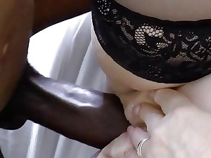 AgedLovE Illustrious Dark-hued Fuck-stick increased by Light-complexioned Grown-up Big