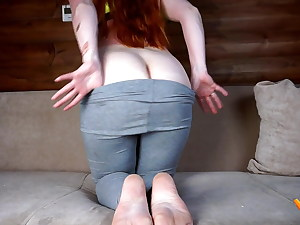 He couldn't resist plumbing my cock-squeezing ass. MadamFox