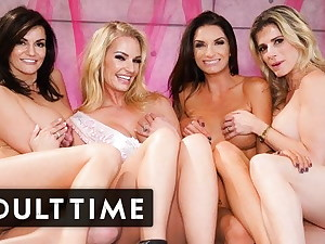 Bachelorette Party Hosts The HOTTEST Girly-girl Foursome Ever!
