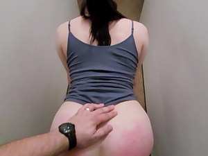 fucked her after her caboose was spanked red