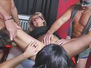 MMV FILMS Fledgling Full-grown Swinger Soiree