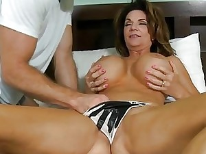 Wanton milf receives penalized